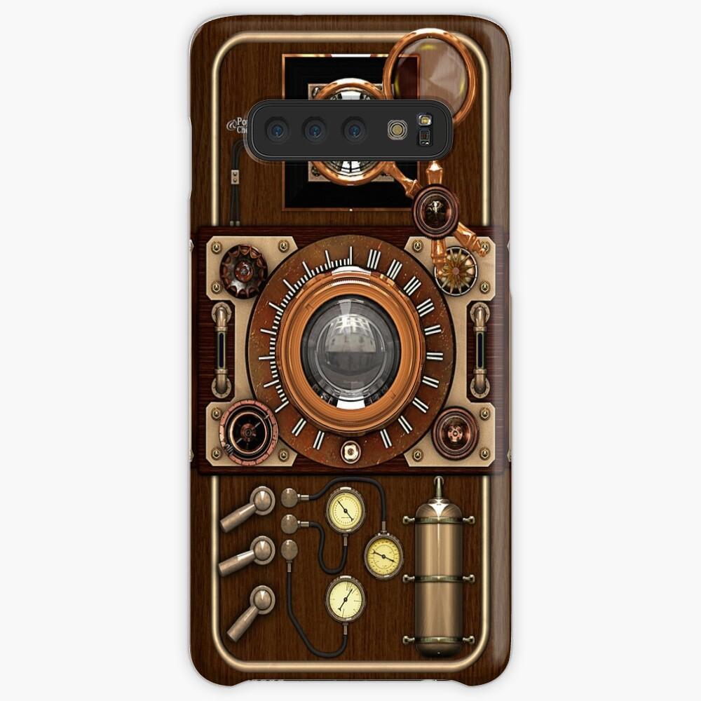 Stylish Steampunk Vintage Camera (TLR) No.1 Steampunk Phone Cases Case & Skin for Samsung Galaxy
