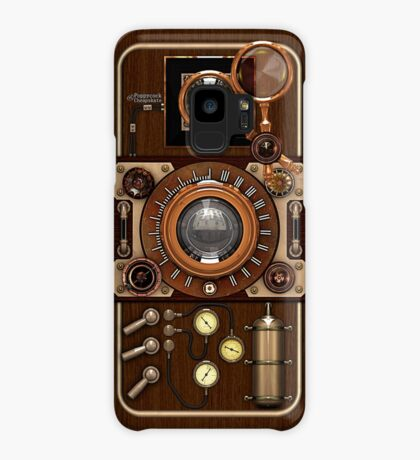 Stylish Steampunk Vintage Camera (TLR) No.1 Steampunk Phone Cases Case/Skin for Samsung Galaxy