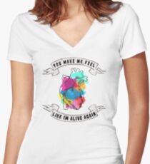 Adventure of a Lifetime Women's Fitted V-Neck T-Shirt