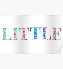 Little, sorority lilly pulitzer Poster