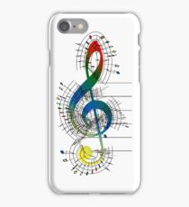 The Sight of Music (6) iPhone Case/Skin