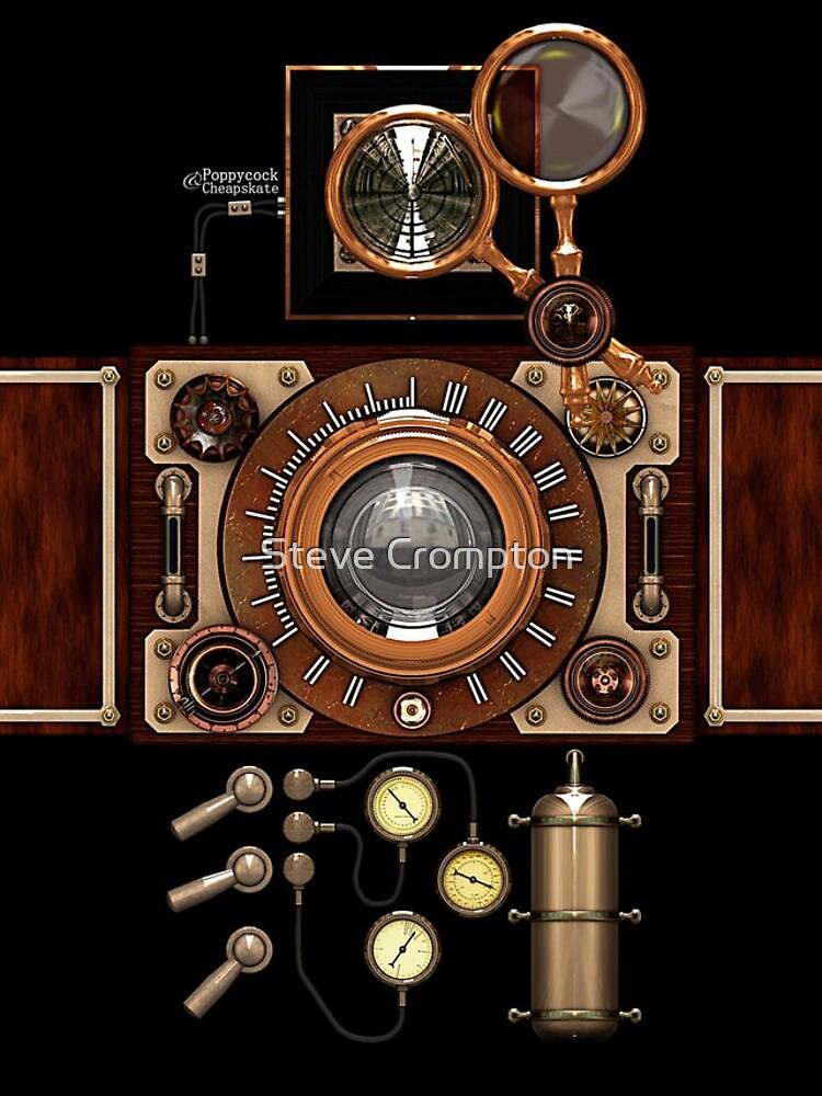 Estuches para el teléfono Steampunk Camera # 2A Vintage Steampunk de SC001