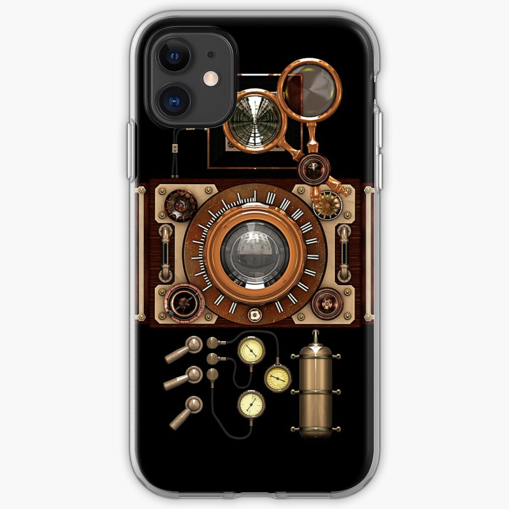 Vintage Steampunk Camera #2A Steampunk phone cases iPhone Case & Cover