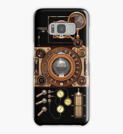 Vintage Steampunk Camera #2A Steampunk phone cases Samsung Galaxy Case/Skin