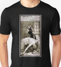 Performing Arts Posters The mammoth spectacular production Sporting life written by Cecil Raleigh Seymour Hicks 1702 T-Shirt