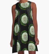 Dandelion Seeds  A-Line Dress