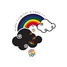 Every Cloud Has A Rainbow by catherine barnhoorn