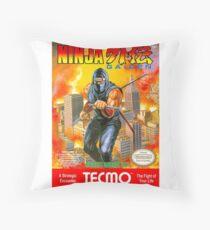 Ninja Gaiden Throw Pillow