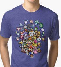 Paper Mario Tri-blend T-Shirt