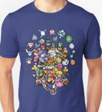 Papier Mario Slim Fit T-Shirt