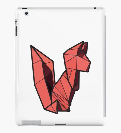 Origami Squirrel iPad Case/Skin