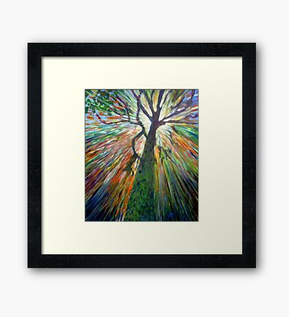 The Joy of the light Framed Print