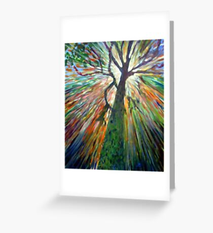 The Joy of the light Greeting Card