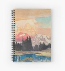 Storms over Keiisino Spiral Notebook