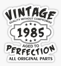 Vintage 1985 Sticker
