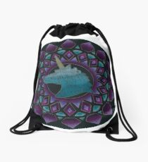 The Power of Unicons Mandala Drawstring Bag