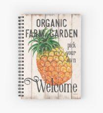 Farm Garden 1 Spiral Notebook