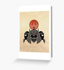 Foot Clan Greeting Card