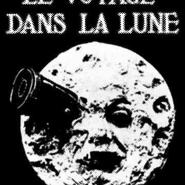 La Voyage dans la Lune by kozality