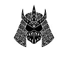 Shred Head (black) by RedTideCreative