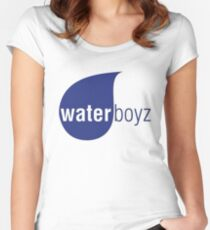 Waterboyz logo chris travis Women's Fitted Scoop T-Shirt