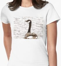 Glimpse From A Gander Womens Fitted T-Shirt