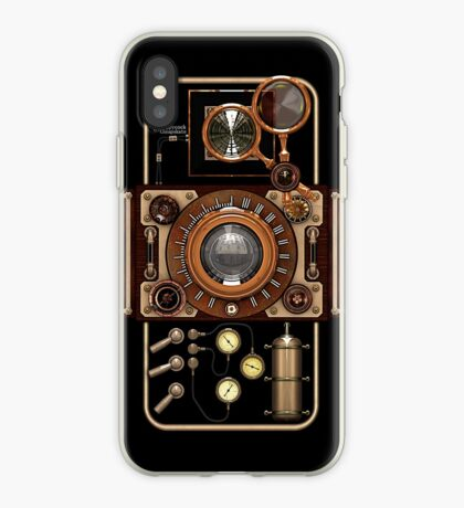 Stylish Steampunk Vintage Camera (TLR) No.2 Steampunk Phone Cases iPhone Case