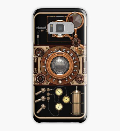 Stylish Steampunk Vintage Camera (TLR) No.2 Steampunk Phone Cases Samsung Galaxy Case/Skin
