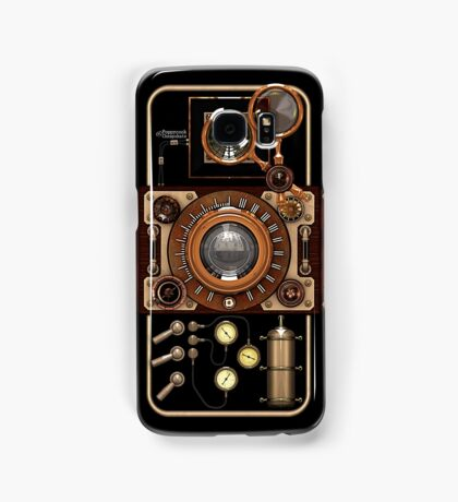Stylish Steampunk Vintage Camera (TLR) No.2 Samsung Galaxy Case/Skin