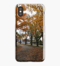 Autumn at Stark iPhone Case/Skin