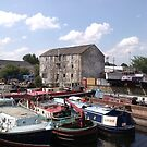Boatyard with old building by sledgehammer