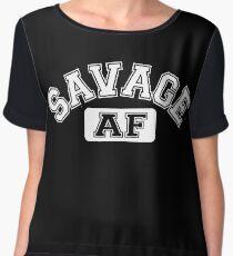 SAVAGE - AF Women's Chiffon Top