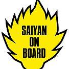Saiyan on Board by worldcollider