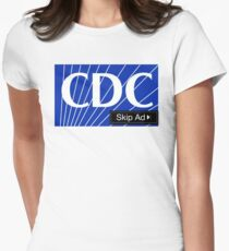 CDC - Skip Ad  Women's Fitted T-Shirt
