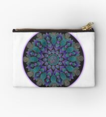 Healing With Angels and Violet Flame Mandala Studio Pouch