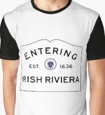 Entering the Irish Riviera - Scituate Massachusetts  Graphic T-Shirt
