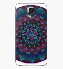 Happy Happy Joy Joy Mandala Case/Skin for Samsung Galaxy