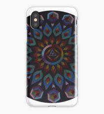 Rainbow Warrior of the Light Mandala iPhone Case