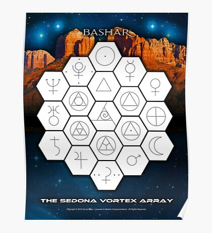 Bashar: Sedona Vortex Array Poster