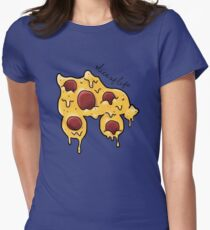 Slice of Life, Roller Skate Edition Womens Fitted T-Shirt