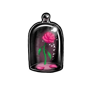 Black Rose Jar by FlyingMonkey