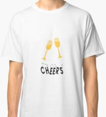 Champagne Cheers! Classic T-Shirt
