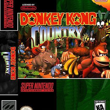 Donkey Kong Country: Box art by muramas