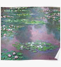Claude Monet - Water Lilies 9 Poster