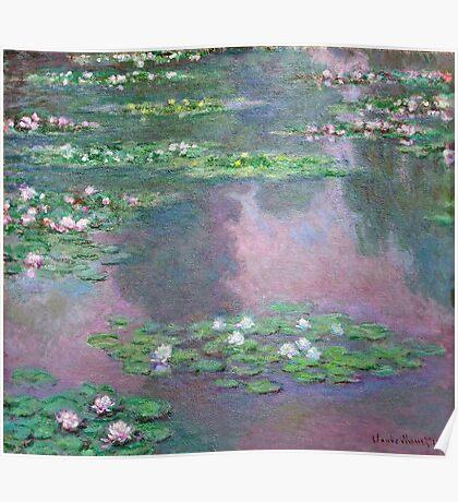 Claude Monet - Water Lilies 9 Poster