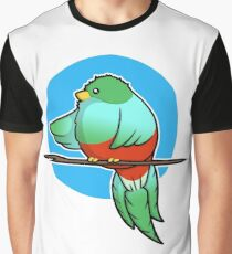 Cute Resplendent Quetzal Graphic T-Shirt