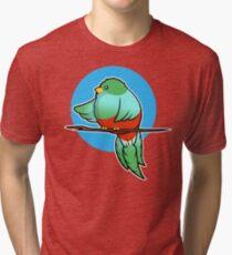 Cute Resplendent Quetzal Tri-blend T-Shirt