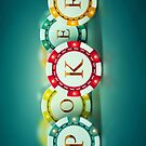 Poker chips  by thatstickerguy
