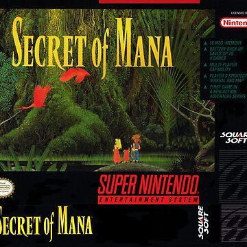 Secret of Mana: Box Art by muramas