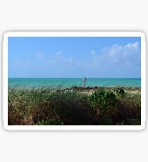 Beach at Fort Zachary Taylor, Key West Sticker